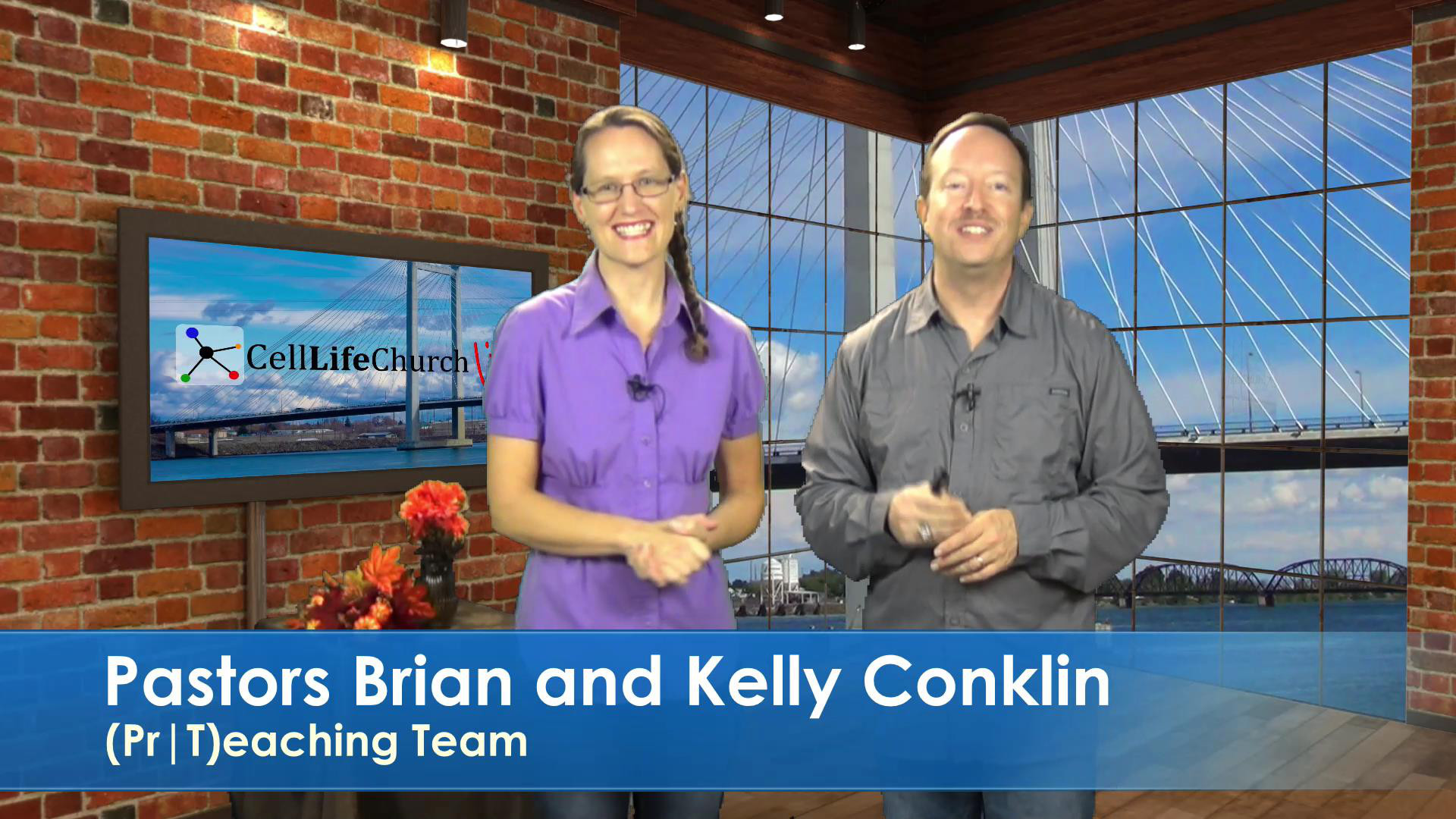 Pastors Brian and Kelly Conklin
